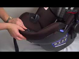 cover of a britax infant car seat