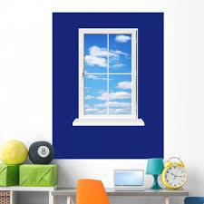 Amazon Com Wallmonkeys Window Skyward Wall Decal Peel And Stick Graphic 48 In H X 36 In W Wm187806 Furniture Decor