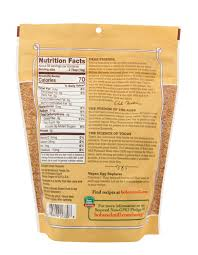 flaxseed meal bob s red