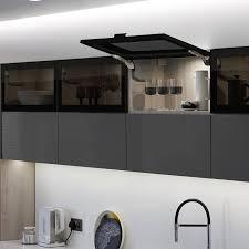amazing full glass kitchen cabinets
