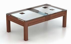 glass center table design photograph