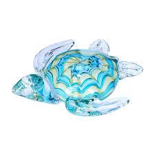 glass figurine blown sea turtle
