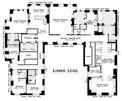 u shaped ranch house plans