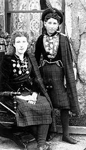 Sisters Flora Agnes and Constance Priscilla McDonald, circa 1890's,  Aberdeen, Scotland. | Scotland history, Scottish people, Vintage scotland