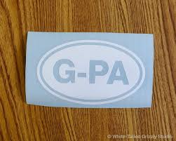 Auto Parts Accessories Gpa Sticker Family Grandfather Grandpa Car Window Decal Smaitarafah Sch Id