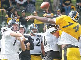 Steelers rookie McCullers gets chance to throw weight around ...