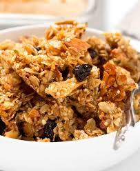 maple almond gluten free granola
