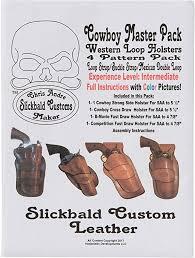 cowboy western loop holsters 4 pattern