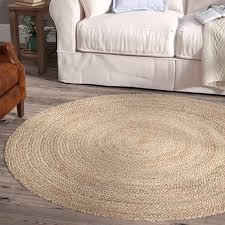 natural jute and sisal rugs round one
