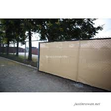 8 X 50 Tan Beige Uv Rated 85 Blockage Fence Privacy Screen Windscreen Shade Cover