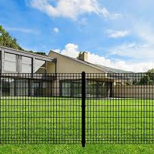The Euro Fence System Offers A Modern Sleek Design To Enhance Your Home Or Office Space Fence Fencing Fence Backyard Design Sleek Design Dream Backyard