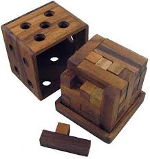 great y cube wooden puzzle brain teaser
