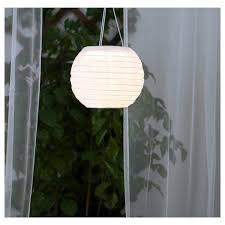 solar powered pendant lamp outdoor