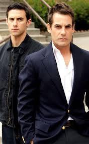 Milo Ventimiglia and Adrian Pasdar   Hero tv show, Milo ...