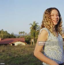 Smiling Teenage Girl Stockfoto - Getty Images
