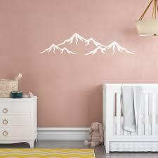 Harriet Bee Bedminster Mountain Nursery Mural Wall Decal Reviews Wayfair