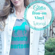 Diy Glitter Iron On Vinyl Tutorial Diy Show Off Diy Decorating And Home Improvement Blogdiy Show Off Diy Decorating And Home Improvement Blog
