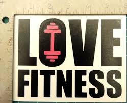 Love Fitness Dumbbell Motivation Gym Wall Window Decal Sticker Cut Vinyl Home Garden Decor Decals Stickers Vinyl Art Ayianapatriathlon Com
