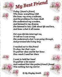 friendship wedding poems best friend poems friend birthday
