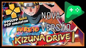COMO BAIXAR NARUTO KIZUNA DRIVE ACTUALIZADO PPSSPP (ANDROID) - YouTube