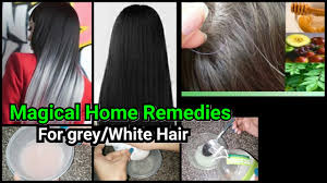 white hair treatment to get rid