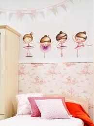 Wall Decals Nursery Baby Girl Ballerina Wall Art Ballet Pink Etsy