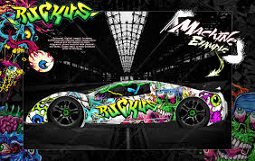 Traxxas Xo 1 Hop Up Graphics Wrap Decals Ruckus Fits Traxxas 6411 Cl Darkside Studio Arts Llc