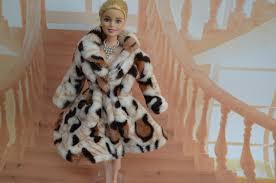 Chính hãng đối với Barbie quần áo búp bê quần áo mùa đông áo báo ...