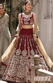 semi sched wedding wear lehenga at
