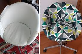 new cover for old ikea skruvsta chair