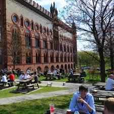 best beer gardens to visit in glasgow
