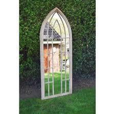 garden gothic arch mirror 75 x 190 cm