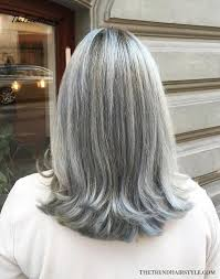 gorgeous hairstyles for gray hair
