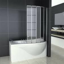 fold folding over bath shower screen