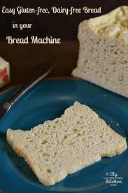 easy gluten free dairy free bread in