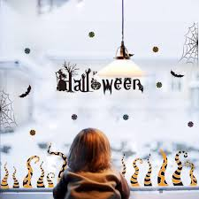 Halloween Carnival Wall Decal Sticker Home Store Decor Diy Removable Art Vinyl Mural For Wall Glass Qtm399 4 Owl Wall Decals Owl Wall Stickers From Kepi4 24 48 Dhgate Com