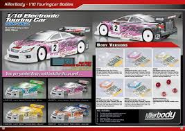 Killerbody 1 10 Touringcar Light Weight Body Rc Cars Rc Parts And Rc Accessories