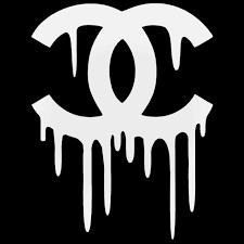 Chanel Drip Decal Sticker