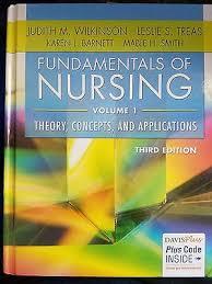 Fundamentals of Nursing Vol. 1 by F. A. Davis, Judith M. Wilkinson ...
