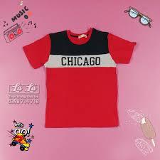 Thời trang Quần áo trẻ em bé trai trẻ con 9 tuổi 24-26 kg - Áo thun bé trai  PDI Đỏ