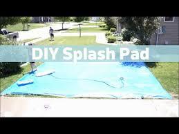 diy splash pad you