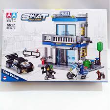 Lego xe ngôi nhà cảnh sát 5517 - đồ chơi xếp hình lắp ráp xe ngôi nhà cảnh  sát với 382 miếng ghép Siêu rẻ