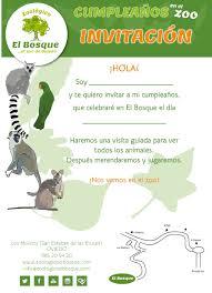 Cumpleanos Zoologico El Bosque El Zoo De Oviedo