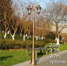 european style street lighting garden