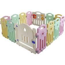 Baby Playpen Play Yard Safety Kids Infants Home Indoor 10 Panel Baby Fence With Door Walmart Com Walmart Com