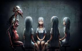 dark evil horror y creepy scary