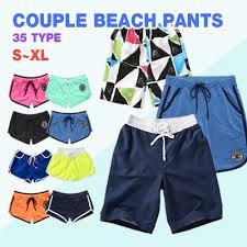 couple beach fashion beach shorts