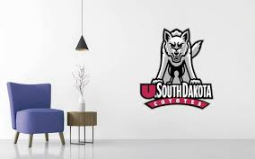 South Dakota Coyotes Football Ncaa Wall Decal Sticker Egraphicstore