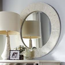 ivory mother of pearl mirror 31 5 on