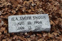 Ila Smith Shook (1904-1927) - Find A Grave Memorial
